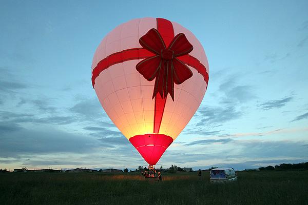 Клуб Воздухоплаватели Москва  Полет на воздушном шаре