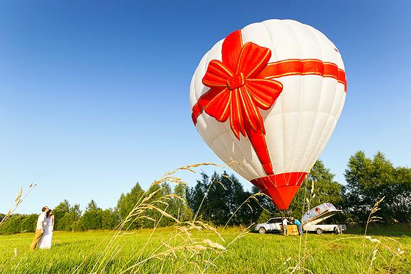 Подарок полёт на воздушном шаре 25
