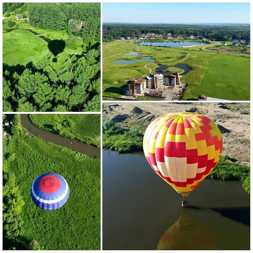 Подарок полёт на воздушном шаре 6